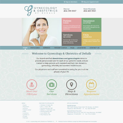 Gynecology and Obstetrics of DeKalb, Gynecology/Obstetrics