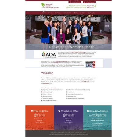 Maricopa OB/GYN Associates, Gynecology/Obstetrics