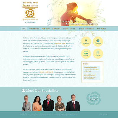 The Philip Isreal Breast Center, Breast Surgery
