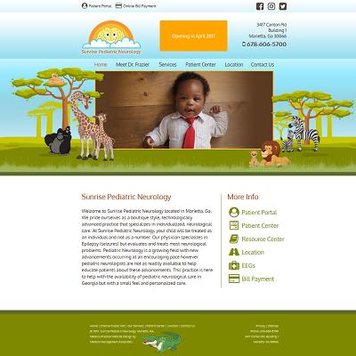 Sunrise Pediatric Neurology, Neurology