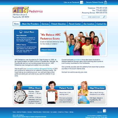 ABC Pediatrics, Pediatrics
