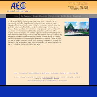 Advanced Endoscopy Center, Gastroenterology