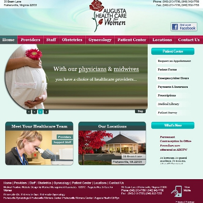 Augusta Health Care for Women, Gynecology/Obstetrics