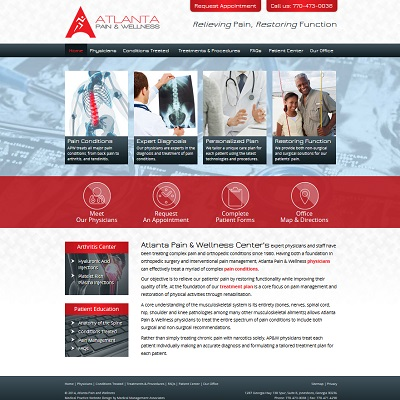 Atlanta Pain and Wellness, Pain Management
