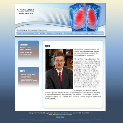 Athens Chest Surgery Specialists, Thoracic