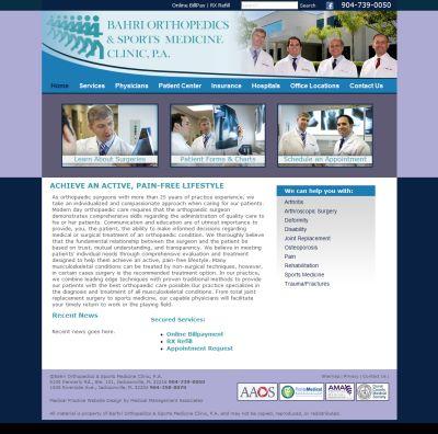 Bahri Orthopedics & Sports Medicine Clinic, Orthopaedics