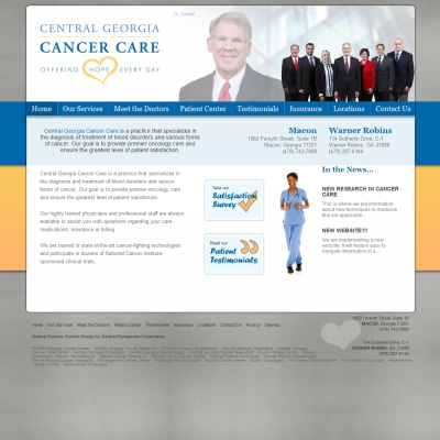 Central Georgia Cancer Care , Hematology Oncology