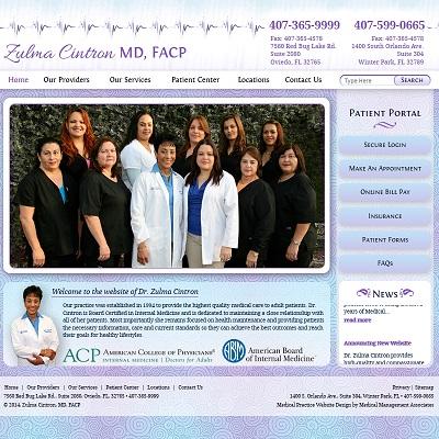 Zulma Cintron, MD, FACP, Internal Medicine