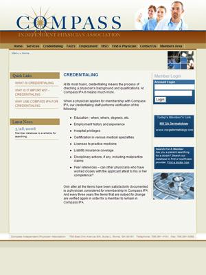 Compass Independent Physicians Association, Independent Physicians Association