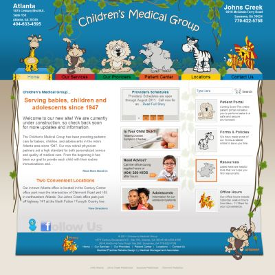 Childrens Medical Group, Pediatrics