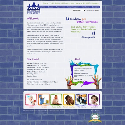Cumberland Pediatrics, Pediatrics