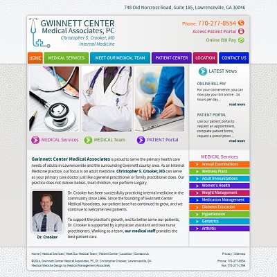 Gwinnett Center Medical Associates, PC, Internal Medicine