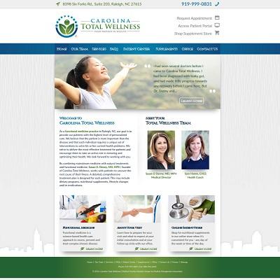 Carolina Total Wellness, Internal Medicine