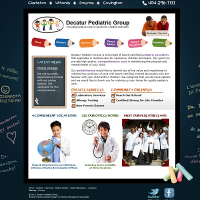 Decatur Pediatric Group, Pediatrics