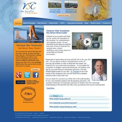 Vein Specialists of the Carolinas, Vascular Surgery