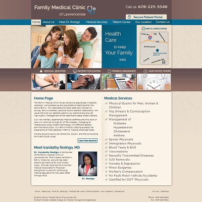 Family Medical Clinic of Lawrenceville, Family Medicine