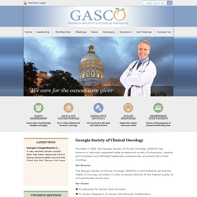 Georgia Society of Clinical Oncology, Professional Society / ONCOLOGY