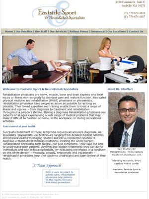 Eastside Sport & Neurorehab Specialists, Physiatry