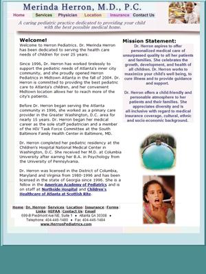 Merinda Herron, M.D., Pediatrics
