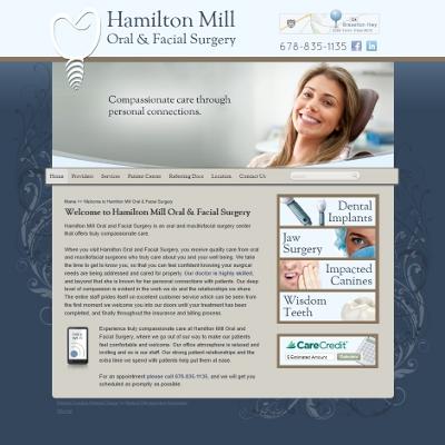 Hamilton Mill Oral and Facial Surgery, Maxillofacial Surgeon