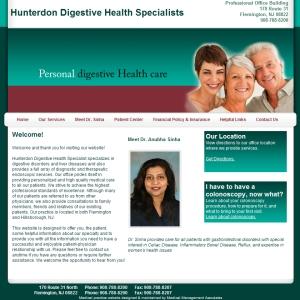 Hunterdon Digestive Health Specialist , Gastroenterology