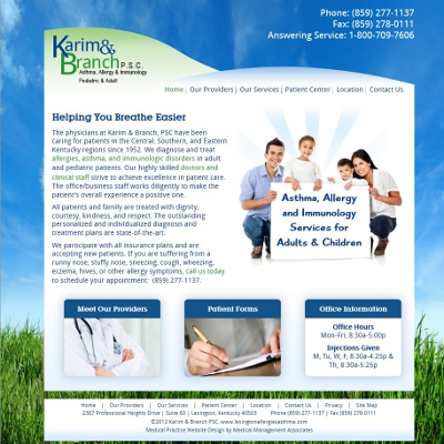 Karim and Branch Asthma, Allergy and Immunology, Allergy and Asthma