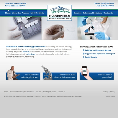 Mountain View Pathology Associates, Pathology