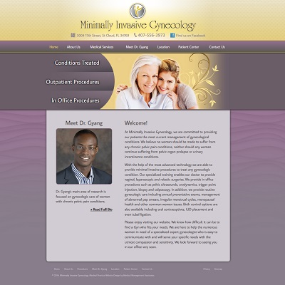 Minimally Invasive Gynecology, Gynecology