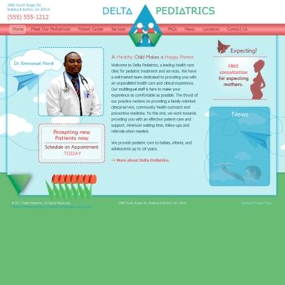 Delta Pediatrics, Pediatrics