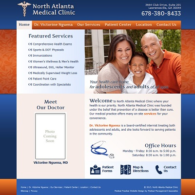 North Atlanta Medical Clinic, Internal Medicine