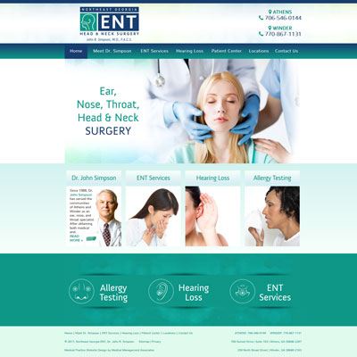 Northeast Georgia ENT, ENT/Otolaryngology