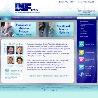 North Fulton Internal Medicine Group, Internal Medicine