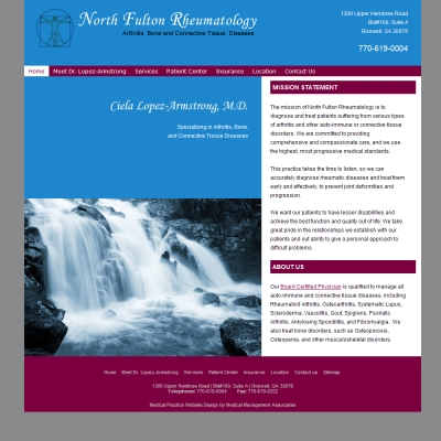 North Fulton Rheumatology, Rheumatology
