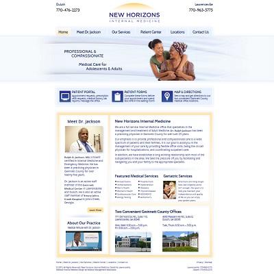 New Horizons Internal Medicine, Internal Medicine