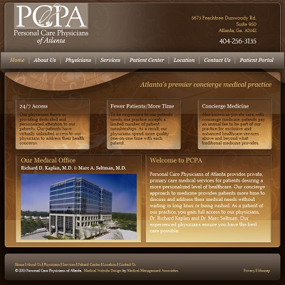 Personal Care Physicians of Atlanta, Primary Care / Internal Medicine