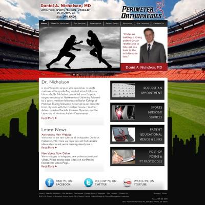 Dr. Daniel Nicholson, Sports Medicine / Orthopaedics