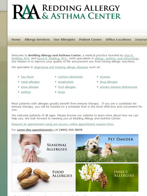 Redding Allergy and Asthma Center, Allergy