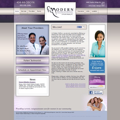 Modern Obstetrics & Gynecology of North Atlanta, Gynecology/Obstetrics