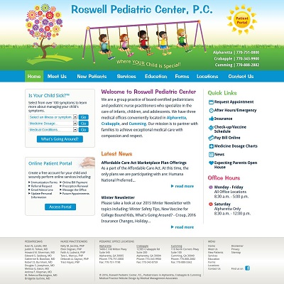 Roswell Pediatric Center, P.C., Pediatrics