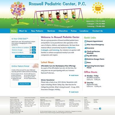 Roswell Pediatric Center, P.C., Pediatrics