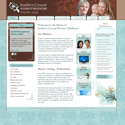 Southern Crescent Womens Healthcare, Gynecology/Obstetrics