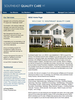 Southeast Quality Care, Multi-Specialty Network
