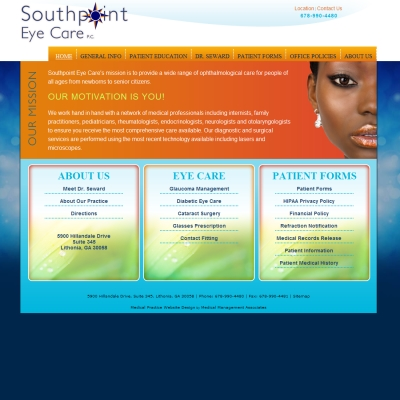 South Point Eye Care, Ophthalmology