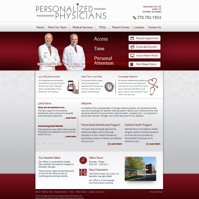 Personalized Physicians, Cardiology/Internal Medicine