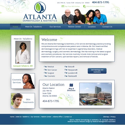 Atlanta Dermatology and Aesthetics, Dermatology