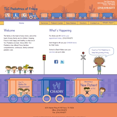 TLC Pediatrics of Frisco, Pediatrics