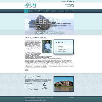 Leeside Wellness, Psychiatry