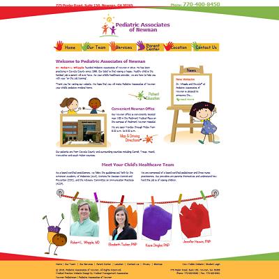 Pediatric Associates of Newnan, Pediatrics
