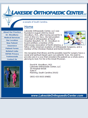 Lakeside Orthopaedic Center, LLC, Orthopaedics