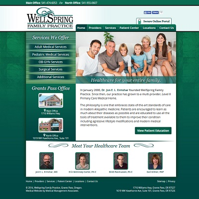Wellspring Family Practice, Family Medicine
